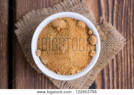 Portion Of Coconut Sugar