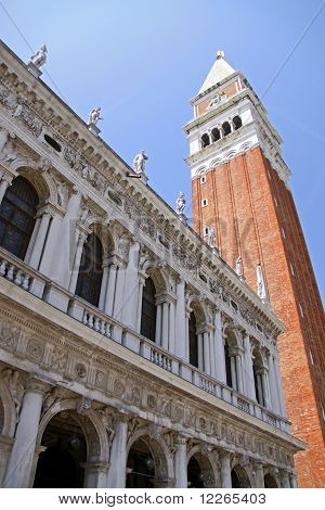 The Loggetta of Campanile di San Marco