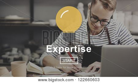 Expertise Excellence Ability Brilliant Concept
