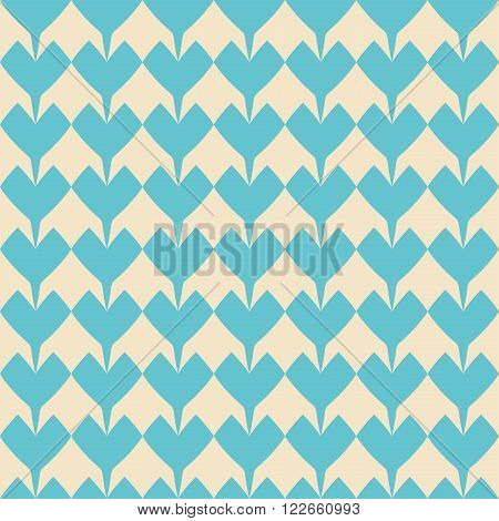 Tile mint green vector pattern on pastel background for decoration wallpaper