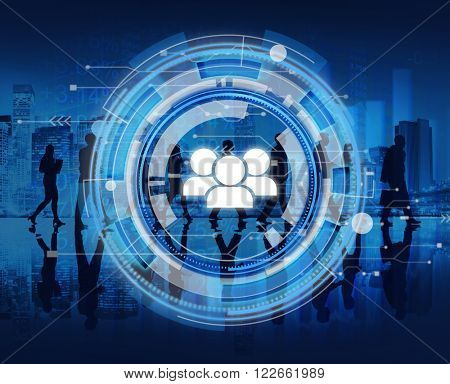 Digital Blue Hud Interface Team Concept