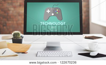 Technology Equipment Gaming Innovative Concept