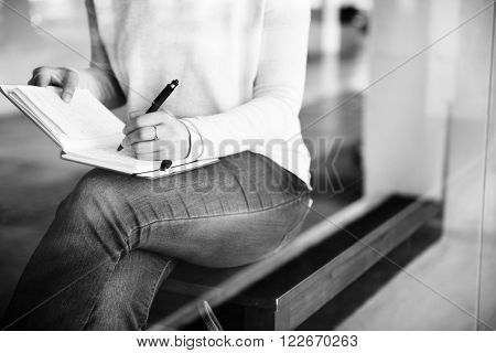 Writing Writer Education Learning Studying Work Concept