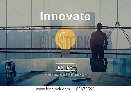 Innovate Create Progress Invention Ideas Concept