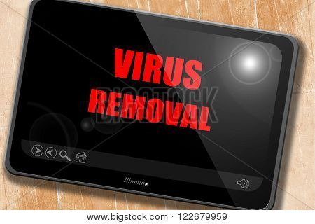 Virus removal background with some soft smooth lines