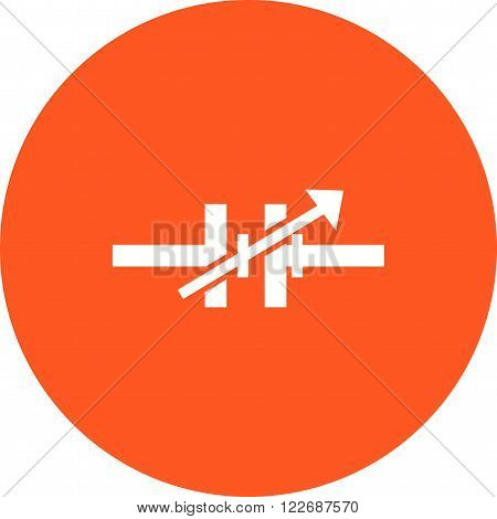 Electric, source, battery icon vector image. Can also be used for electric circuits. Suitable for use on web apps, mobile apps and print media.