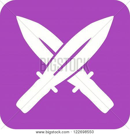 Sword, shield, blade icon vector image. Can also be used for games entertainment. Suitable for web apps, mobile apps and print media.