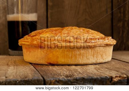 Whole Meat Pie With Beer