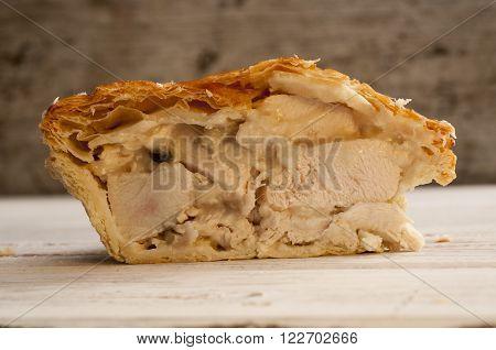 Chicken And Onion Pie
