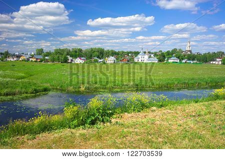 Gold ring of Russia. Vladimir region, Suzdal
