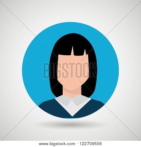person avatar design, vector illustration eps10 graphic