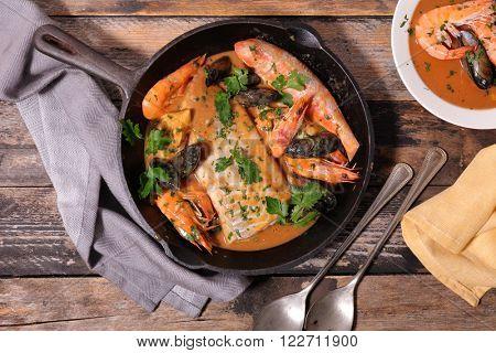 bouillabaisse,french dish