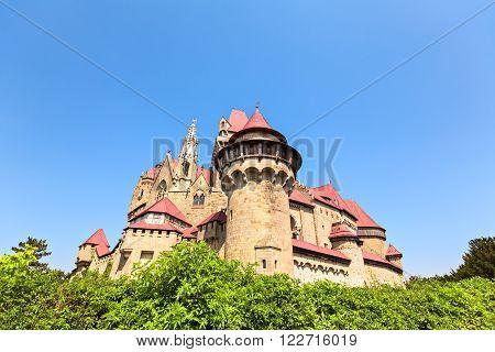Burg Kreuzenstein is a castle near Leobendorf in Lower Austria Austria.
