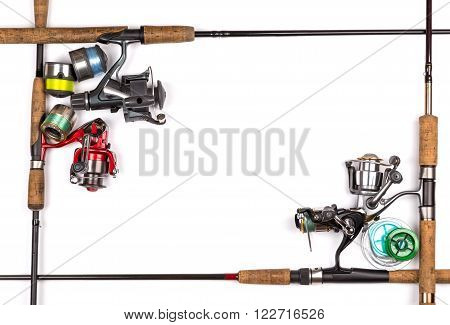 Frame From Different Fishing Tackles