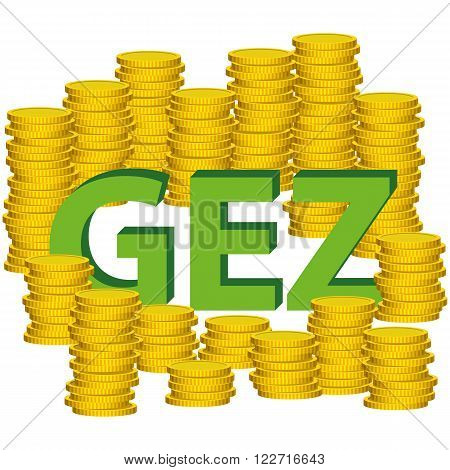 Illustration Graphic Vector Money Gez