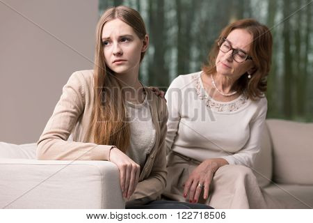 Mother And Daughter Conflict