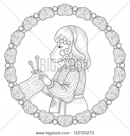 Adorable Sheep Coloring Page