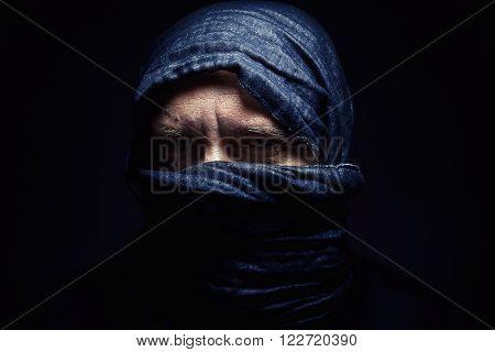 Man With Headscarf