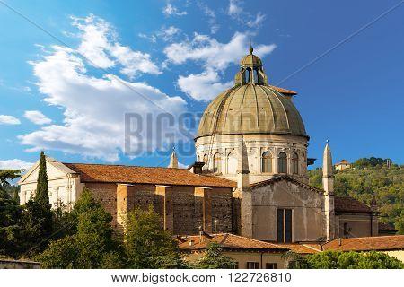 Church of San Giorgio in Braida - Verona Italy (XVI century) in Verona (UNESCO world heritage site), Veneto, Italy