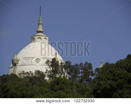 the City of Tunis at the african coast