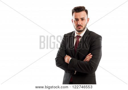 Bad And Angry Business Man