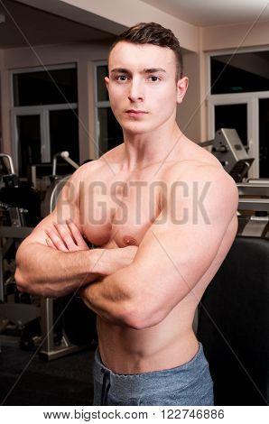 Confident Body Builder