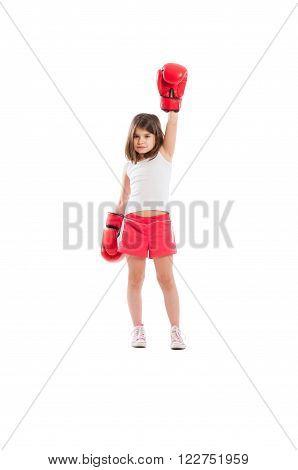Adorable Boxer Girl Champion