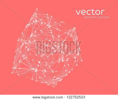 Abstract Vector Illustration Of Cube