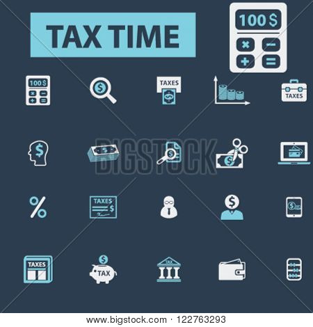 tax time icons