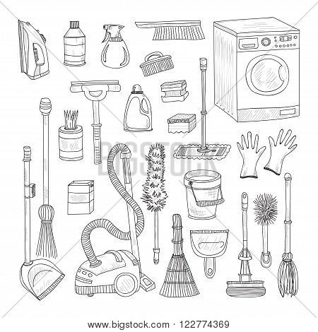 House Cleaning Tools