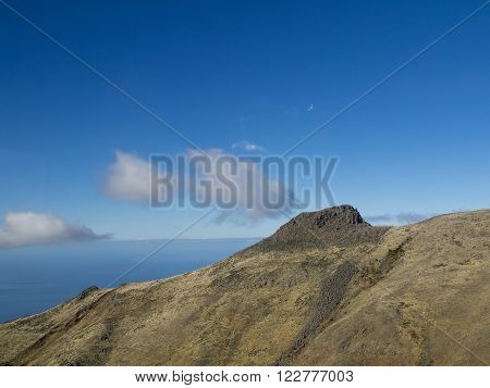 the mountains of the portugese Island of madeira