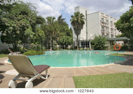 Luxury Hotel And Pool
