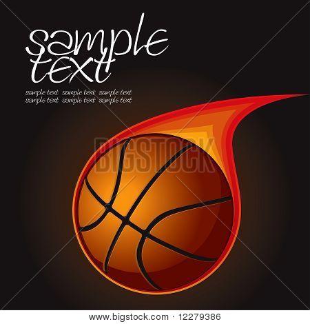 Basketball Fire Ball 1