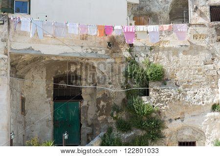 Clothes In Sassi In Matera