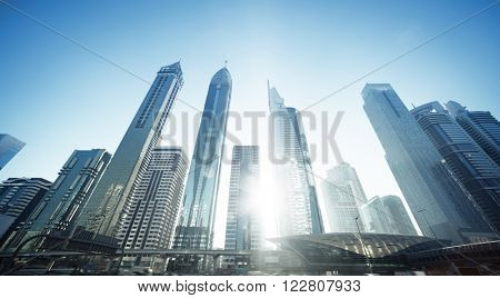 Sheikh Zayed road, United Arab Emirates