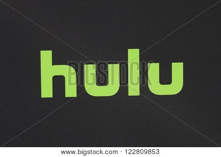LOS ANGELES - MAR 21: Hulu, Logo at the Premiere of 'The Path' at Arclight Hollywood on March 21, 2016 in Los Angeles, California