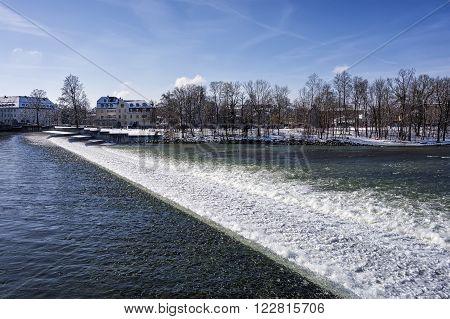 Karolinenwehr Landsberg Lech In Winter
