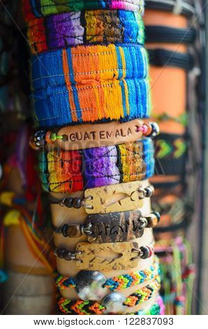 Hand-craft wristbands pf various types and colors