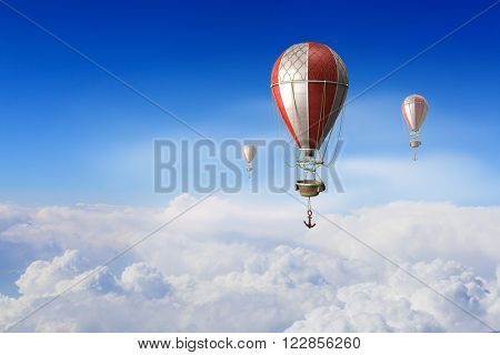 Aerostats flying high