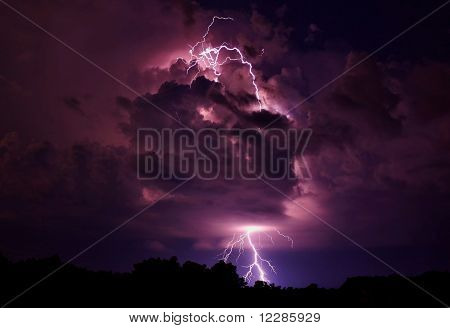 Lightning strike...