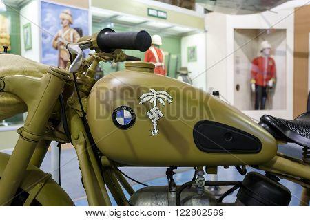 Bmw Motorcycle Afrika Corps 1942