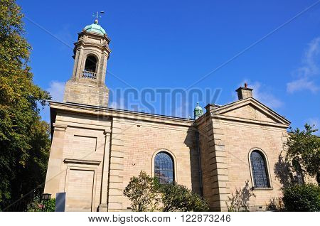 St John the Baptist Church Buxton Derbyshire England UK Western Europe.