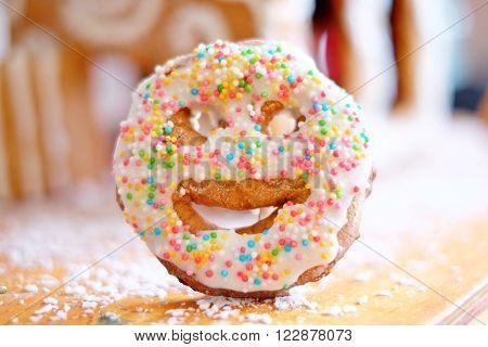 Gingerbread Smiley, Christmas