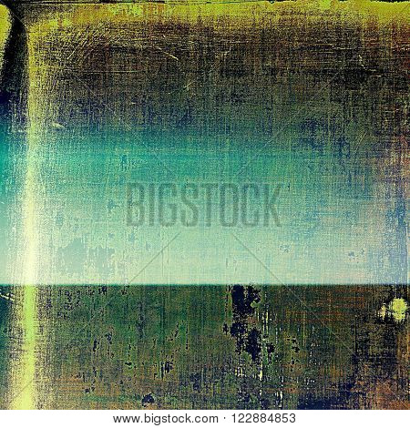 Tinted vintage texture, aged decorative grunge background. With different color patterns: blue; green; yellow (beige); brown; gray