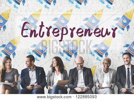 Entrepreneur Business Risk Startup Developer Concept