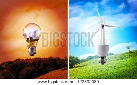 Comparison Between Various Types Of Light Bulb Environmental Conservation