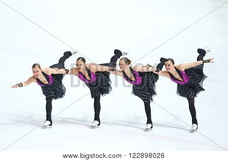 Team Finland One Performing