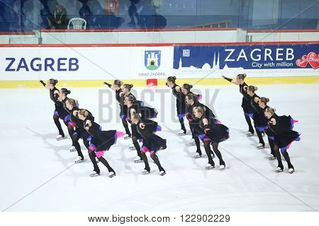 Team Finland One In Zagreb