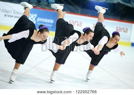Team Italy Pirouette