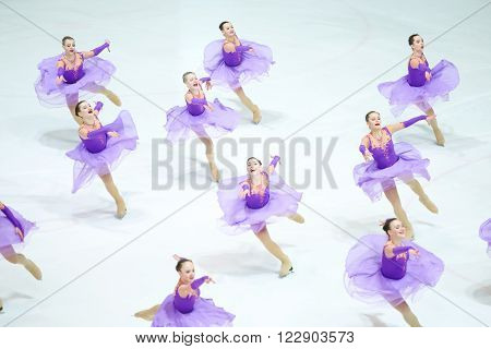 Team Russia One Dancing